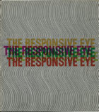 Jeffrey Steele artist exhibition catalogue cover The Responsive Eye 1965