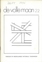 Jeffrey Steele artist exhibition catalogue cover De Volle Maan 22 Delft 1976