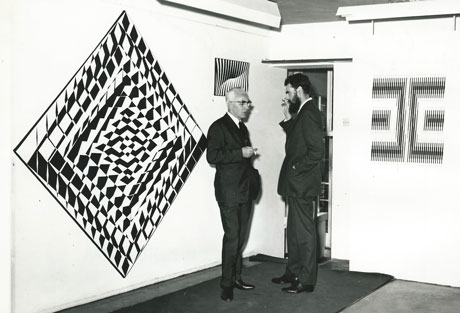 Jeffrey Steele and Mateusz Grabowski exhibition 1960s